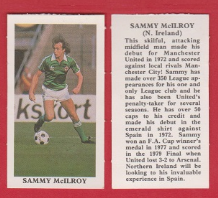 Northern Ireland Sammy McIlroy Manchester United